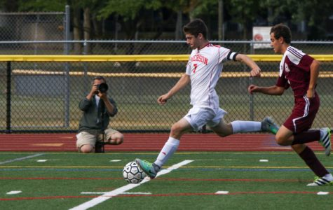 Emerson High School's varsity soccer team moves on to the state sectional semifinals