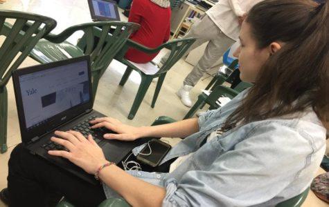 EHS alumni return for informational college panel