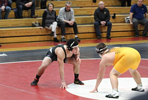 Wrestler Robbie Maggiulli Prepares for State Tournament