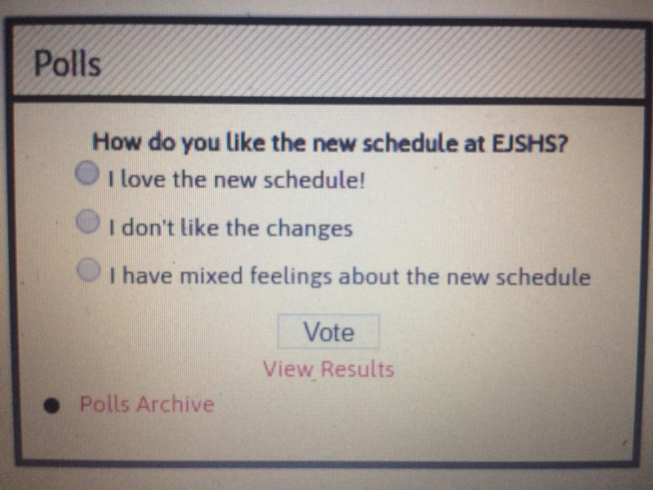 A recent poll was conducted by The Cavalier to figure out how students feel about the new schedule.