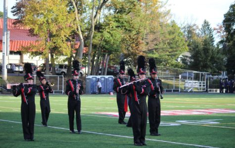 EHS marching band and color guard perform at North Jersey Band Festival